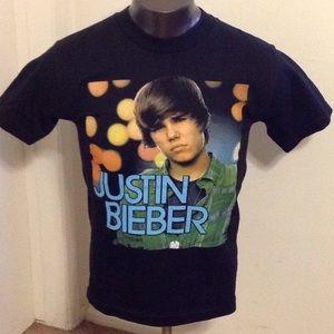 Justin bieber men's tee size S
